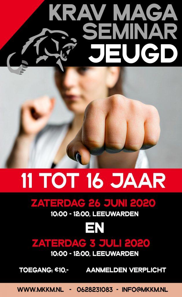 2e Seminar Jeugd (11 t/m 15) @ Leeuwarden